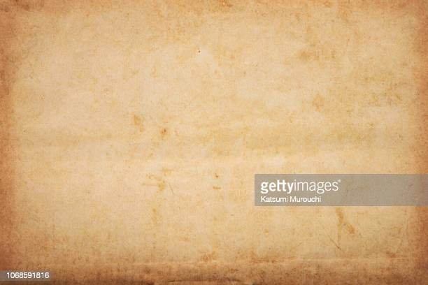 old brown paper texture background - old paper stock pictures, royalty-free photos & images