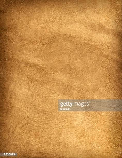 Alte Buckskin Leder-Hintergrund