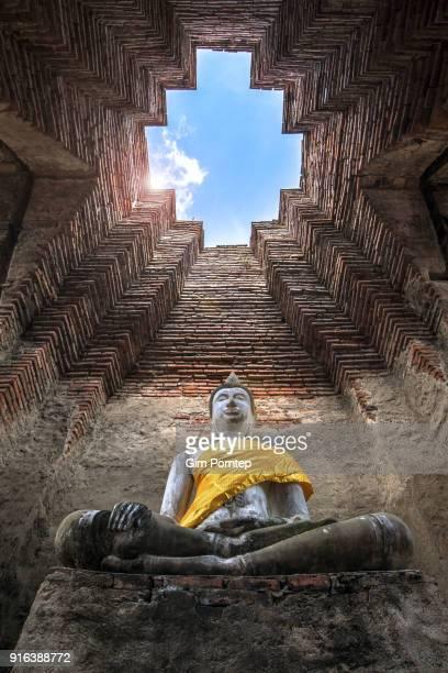 Old Buddha in ayutthaya