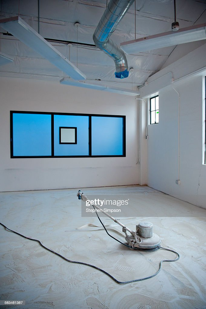 old building being converted to school : Stock Photo