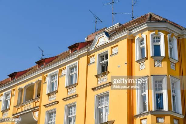 Old building, Charlottenstrasse, Old Town, Spandau, Berlin, Germany, Altbau, Charlottenstrasse, Altstadt, Germany.