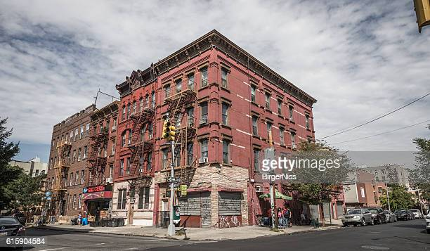 Old building in Brooklyn, New York City, United States