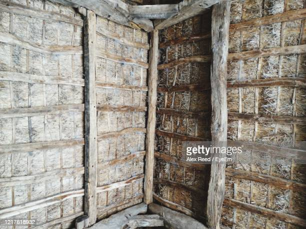 old building roof. - alex reed stock pictures, royalty-free photos & images