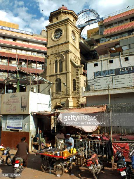old buildings of karachi - sind stock pictures, royalty-free photos & images