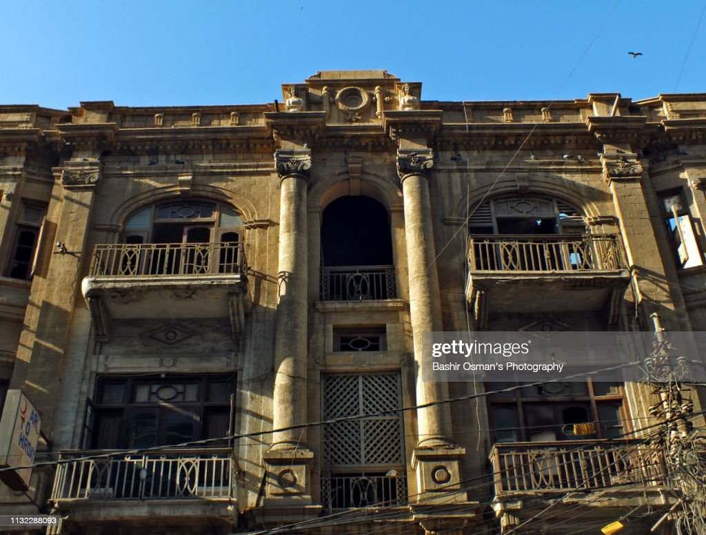 Old Buildings Of Karachi Stock Photo - Getty Images