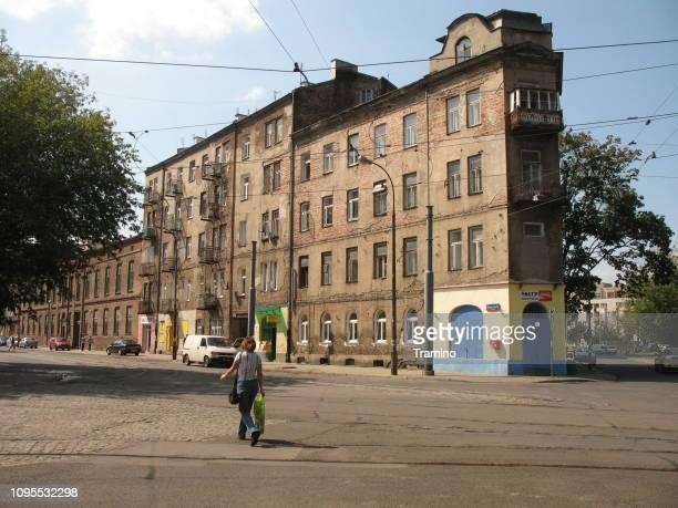 Old buldings in Praga, district of Warsaw