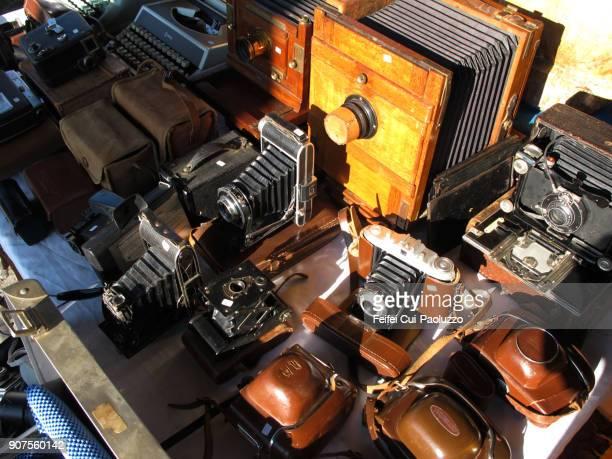 Old camera for sale at Flea market
