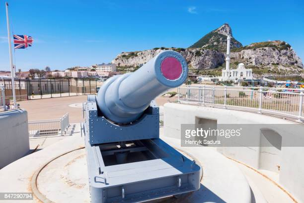 Old Cannon in Gibraltar