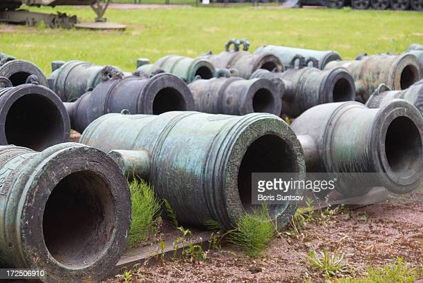 old cannons - boris stock photos and pictures