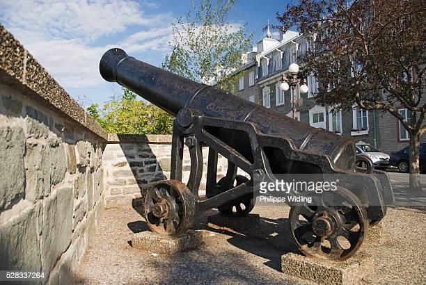 Old Canon; Quebec City Quebec Canada