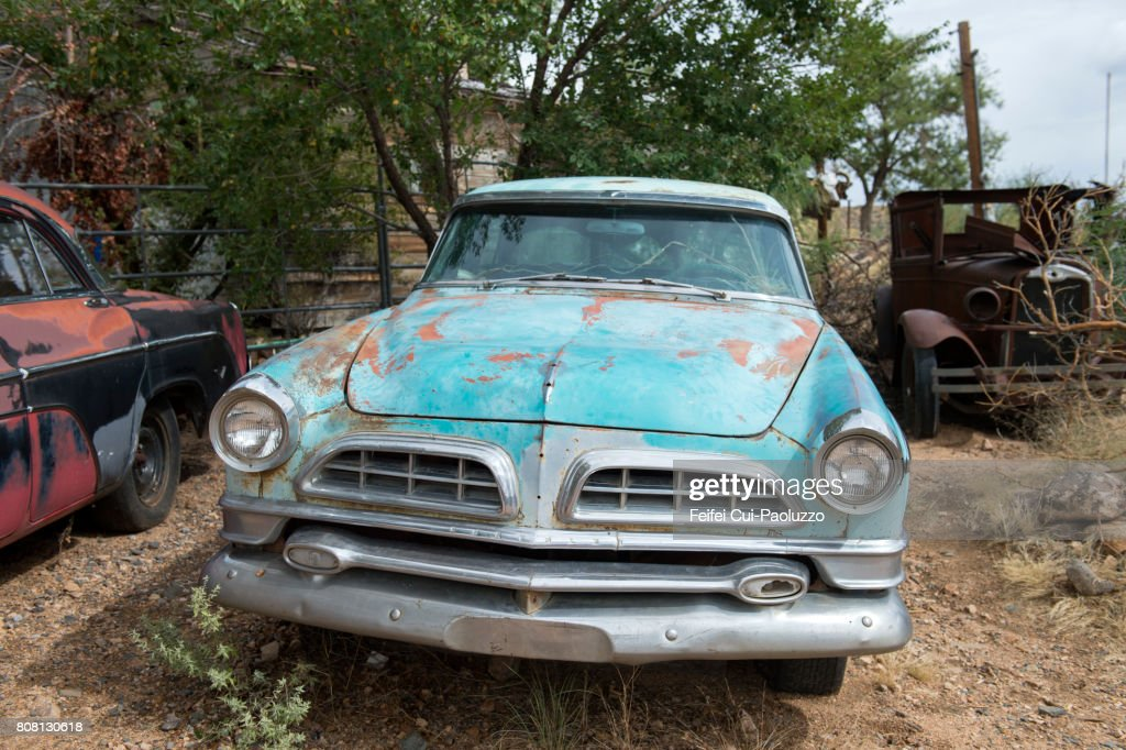 Old Car At Hackberry Arizona State Usa Stock Photo | Getty Images