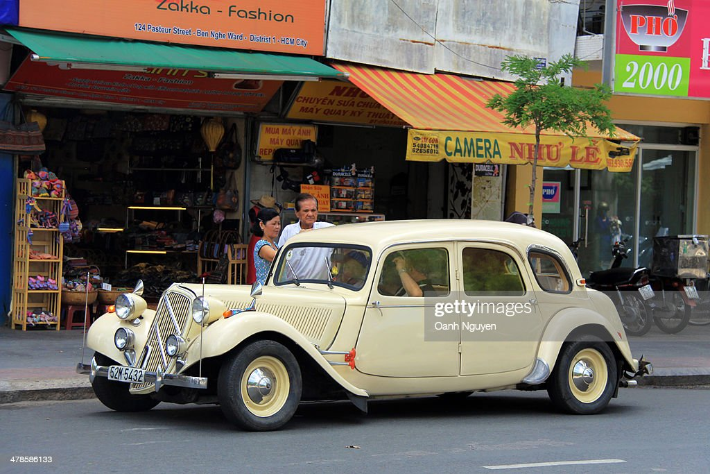 Old cars in good uses, Saigon, Vietnam Pictures | Getty Images