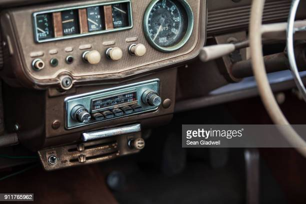 Old car stereo
