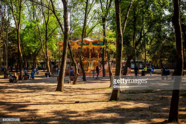 Old carrusel in Chapultepec park