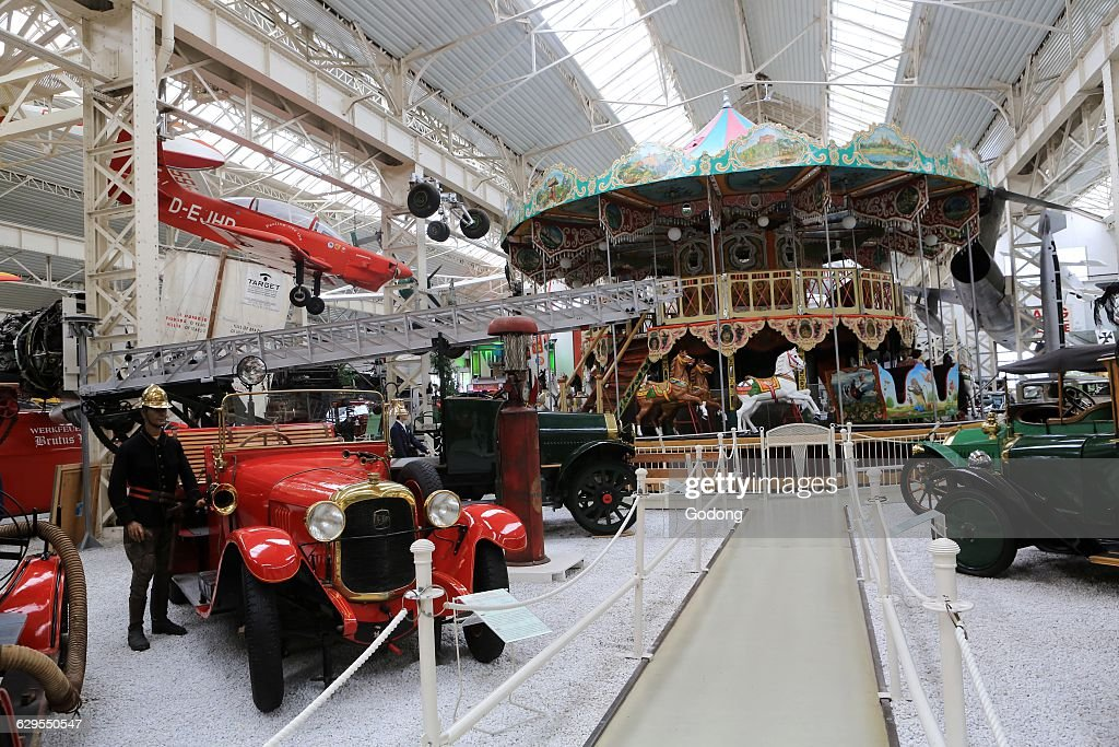 Old cars show. The Speyer Technik Museum. Pictures | Getty Images