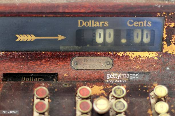 old cash register - greenville south carolina stock photos and pictures
