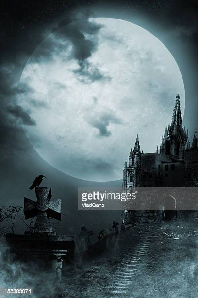 old castle - gothic stock pictures, royalty-free photos & images