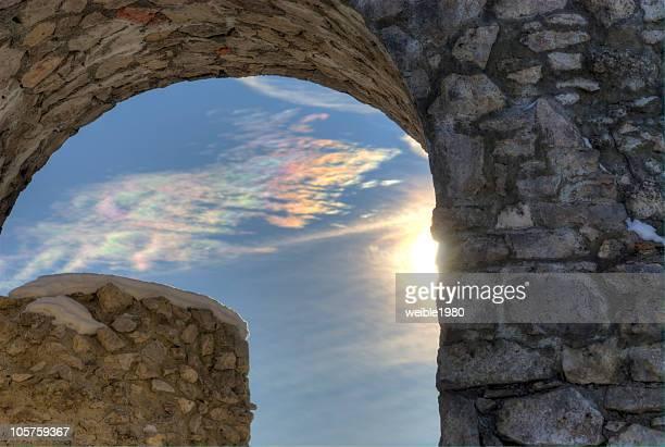 Alte Fenster Sonnenschein