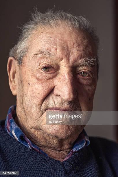 Old caucasian man