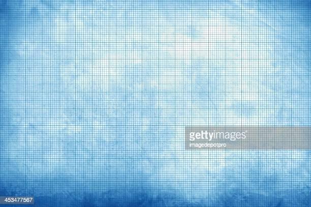 古い紙チャート - 線入り用紙 ストックフォトと画像