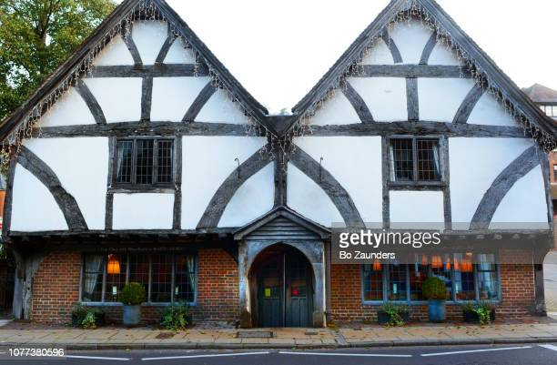 Old Chesil Rectory, dating back to between 1425-1450, this is the oldest house in Winchester, Hampshire, UK.