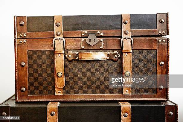 old chests - leather belt stock pictures, royalty-free photos & images