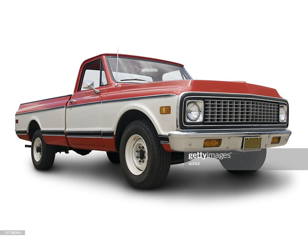 Old Chevy Truck : Stock Photo