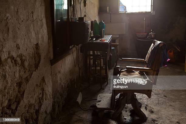 Old Chinese barbershop