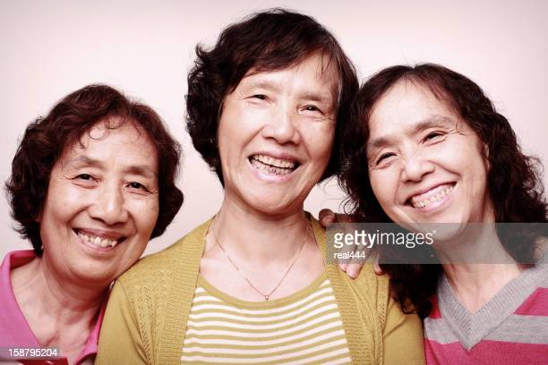 old chinese sister - chinese mothers day stock pictures, royalty-free photos & images