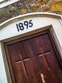 Old church doorway
