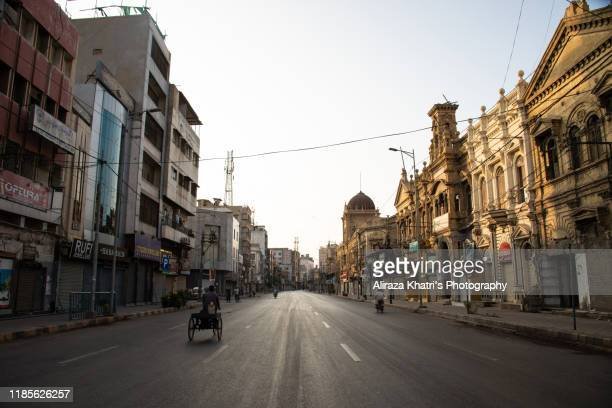 old city architecture - karachi - カラチ ストックフォトと画像