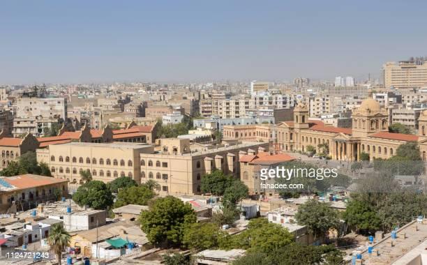 old city area of karachi pakistan - カラチ ストックフォトと画像