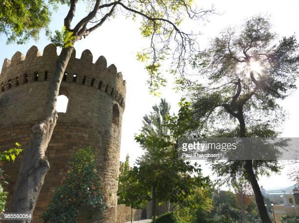 Old City Baku Walls