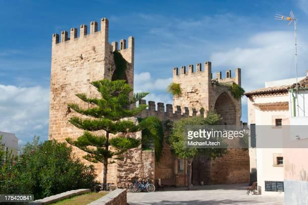 Old City Gate Of Alcudia, Mallorca