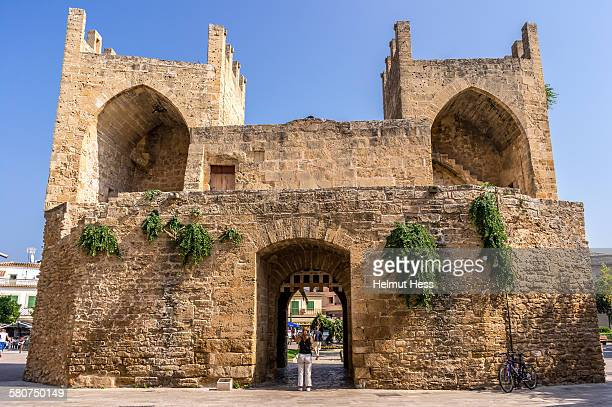 Old city gate of Alcudia