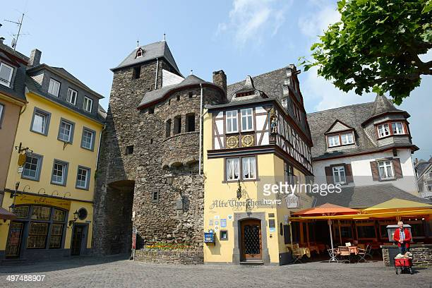 Old city gate of Cochem (Germany)