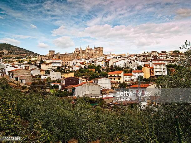 old city, guadalupe - estremadura stock-fotos und bilder