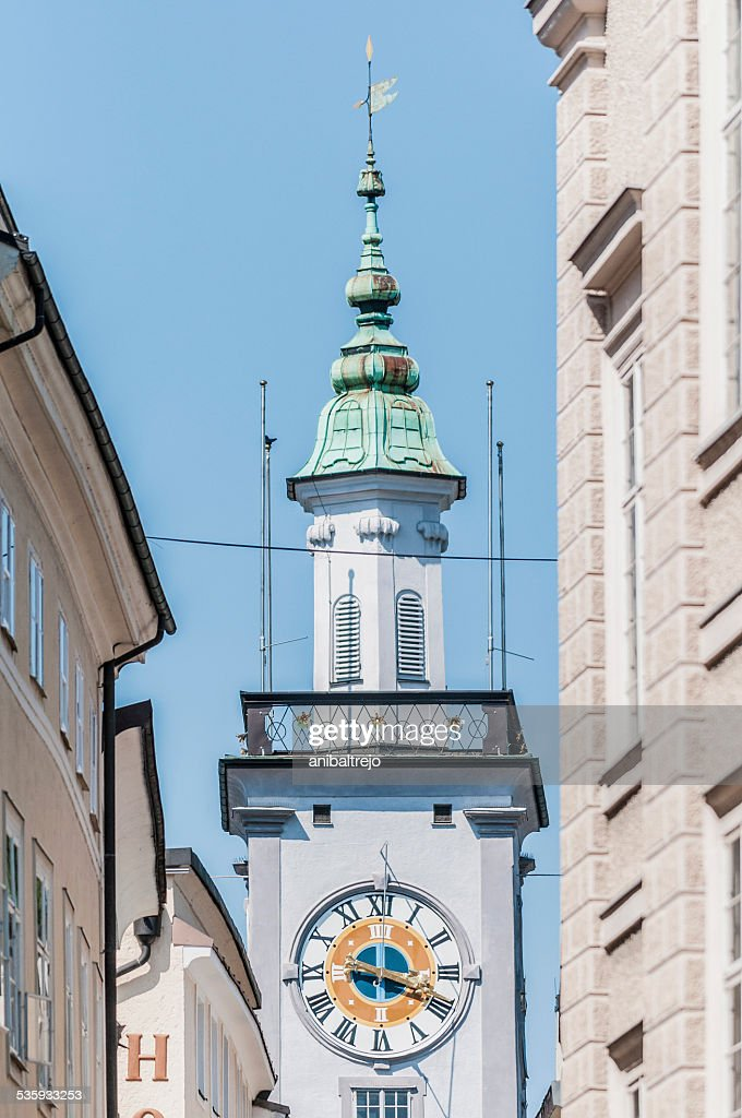 Old City Hall (Altes Rathaus) at Salzburg, Austria : Stock Photo