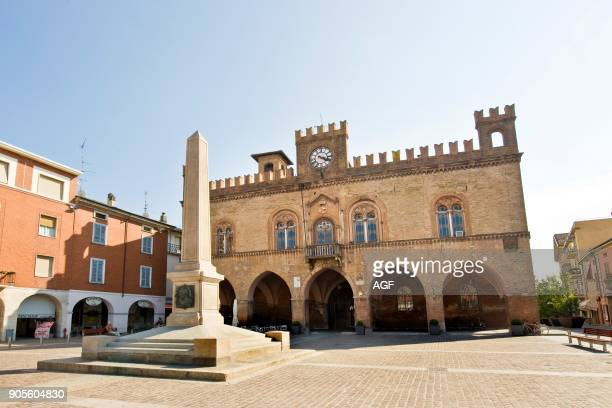 Old city hall Fidenza province of Parma Italy