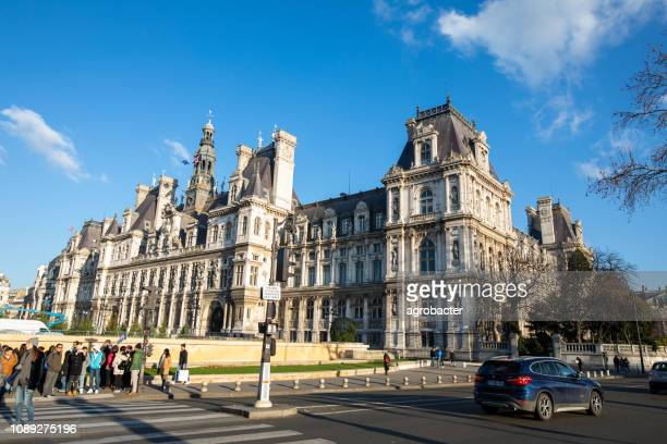 old city hall of paris, france - people's committee building ho chi minh city stock pictures, royalty-free photos & images