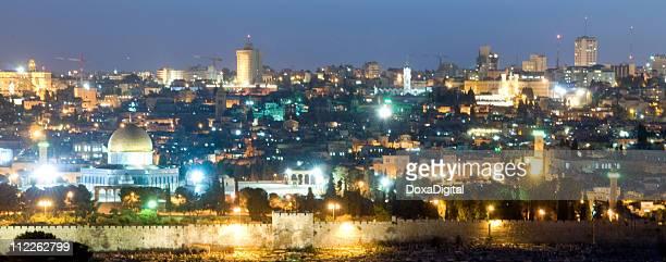Old City Jerusalem at Night