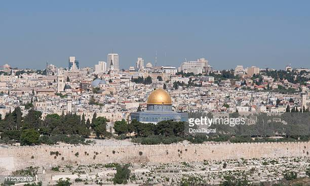 old city jerusalem - temple mount stock pictures, royalty-free photos & images
