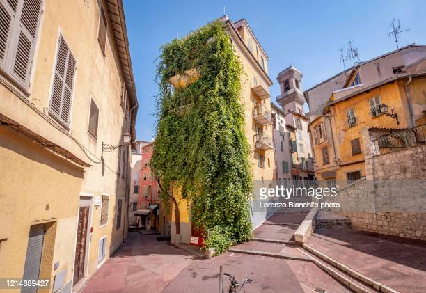 old city of nice, france - alpes maritimes stock pictures, royalty-free photos & images