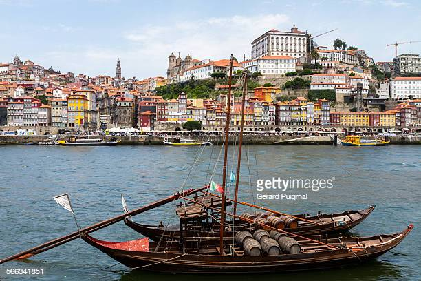 Old city of Porto and the Douro river