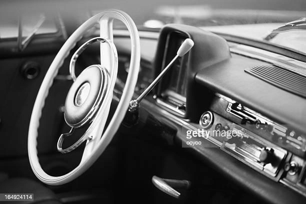 Old Classic Car Interior