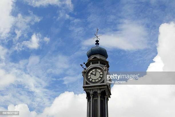 Old Clock in Belém north of Brazil