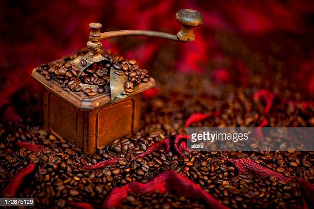 old coffee grinder - ancient stock pictures, royalty-free photos & images