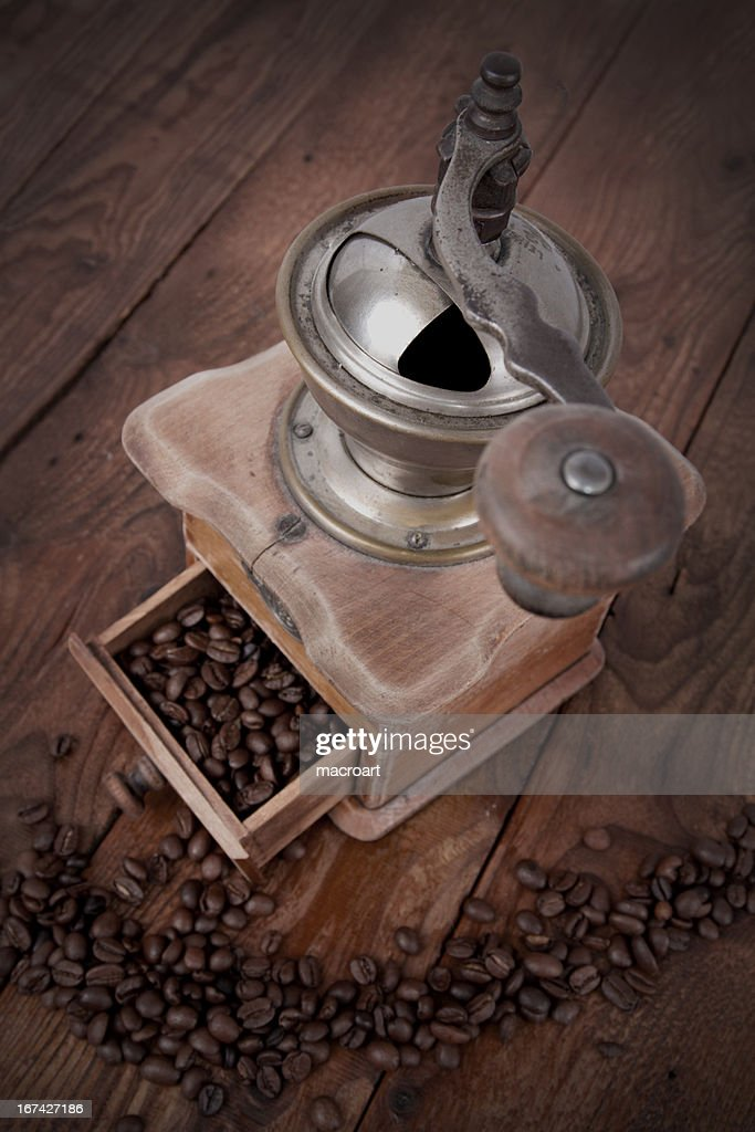 old coffee mill : Stock Photo