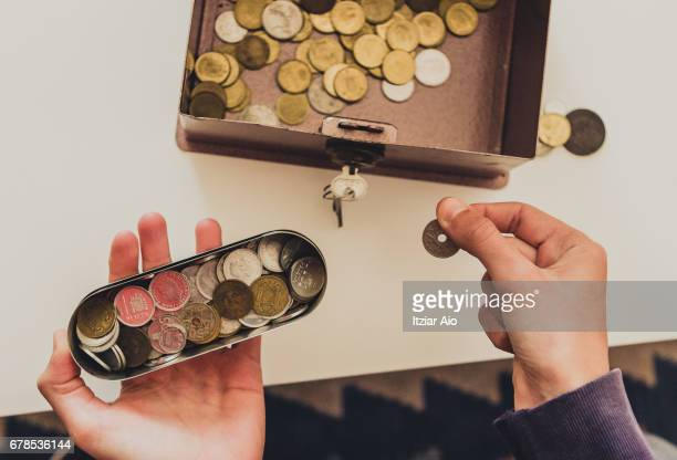 Old Coins In Box
