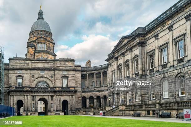 イギリス、スコットランド、エディンバラのエディンバラ大学の旧大学 - エディンバラ ストックフォトと画像